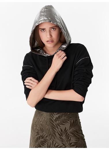 Twist Sweatshirt Siyah